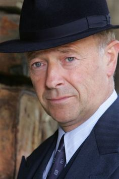 Michael Kitchen - plays DCS Foyle in the BBC series, FOYLE'S WAR.  Wonderful!