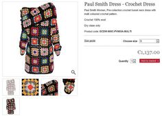 Paul Smith's Granny Squares Dress  ❥ 4U // hf