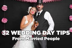 Real advice! Let's hope I remember some of it : 32 Secrets From Married People About Wedding Planning