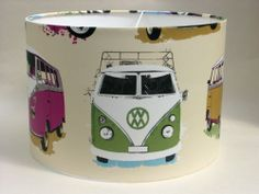 Campervan/Lambretta Design Handmade Wallpaper Lampshades | eBay Handmade Wallpaper, 9 Year Old Girl, Frozen Theme, 9 Year Olds, Spare Room, Kid Spaces, Campervan, Lampshades, Bedroom Ideas