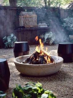 Add an outdoor fireplace to your pool area!