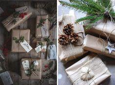 упаковка новогодних подарков - Поиск в Google
