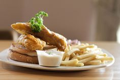 Gourmet Fillet of Fish Burger