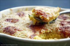 IRRI style: Moliūgo gratin'as su Parmezano sūriu