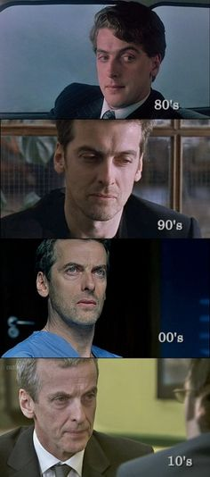 Peter Capaldi, Doctor Who #12. each decade.