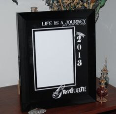 8x10 Graduation Life is a Journey Framed by SapphireCustomPhotos, $17.00