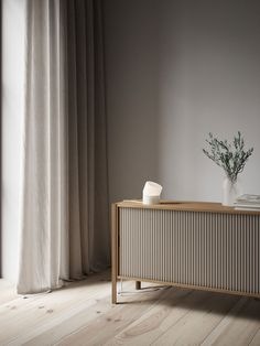 Pleat Cabinet is a design looking both backward and forward in time. The result is a cabinet that rethinks functionality while retaining the classic lines. Furniture, Furniture Design Modern, Hotel Interior Design, Interior, Living Room Console, Interior Furniture, Home Decor, House Interior, Furniture Design