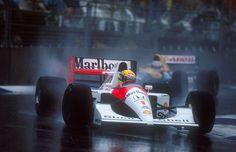Ayrton Senna on in2motorsports.com