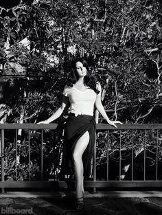 Lana Del Rey photographed by Joe Pugliese for Billboard Magazine's October 2015 issue