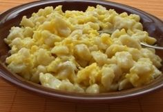 Tojásos nokedli 2. Macaroni And Cheese, Ethnic Recipes, Food, Mac And Cheese, Essen, Meals, Yemek, Eten