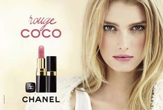 The lovely 20 year old French Martinique model, Sigrid Agren, is replacing Vanessa Paradis as the new face for Chanel Rouge Coco lipstick. Image via Design Scene. Coco Chanel, Chanel Beauty, Beauty Ad, Beauty Make Up, Beauty Ideas, Beauty Secrets, Beauty Products, Chanel Lipstick, Chanel Makeup