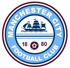 Hockey Logos, Soccer Logo, Sports Logos, Man City Crest, Manchester City Wallpaper, Football Logo Design, Girls Bathing Suits, Football Kits, Logo Concept