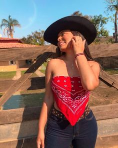 Cute Cowgirl Outfits, Cute Country Outfits, Rodeo Outfits, Cute Outfits, Other Outfits, Basic Outfits, Moda Country, Looks Country, Mexican Outfit