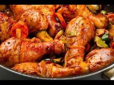 صينية الدجاج بالخضروات