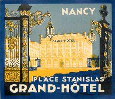 Place Stanislas Grand Hotel Nancy