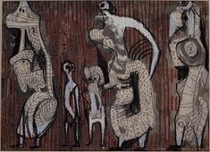 Textile Design: Figure Studies – Results – Search Objects – Henry Moore Foundation