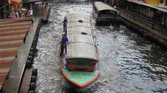 Khlong Saen Saep Express Boat Service Bangkok Thailand by David McKelvey