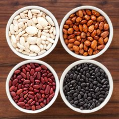 Beans are low-cal and packed with protein and fiber, which help you tone up and lose weight. Make a bean-heavy dish, such as burritos, instead of meat once a week. You'll cut a lot of saturated fat and replace it with fiber. Watch out: Refried beans are high in saturated fat. Choose plain black, pinto, or other varieties instead.  - GoodHousekeeping.com