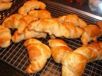 Make them today, bake them tomorrow Croissants in a hurry.................. Cooking with Barry & Meta:
