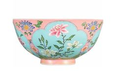 A superbly enamelled, fine and exceedingly rare pink-ground falangcai bowl, puce-enamel Yuzhi mark and period of Kangxi cm, 5 in. Estimate upon request. Chinese Bowls, Chinese Art, Art Asiatique, Chinese Ceramics, Quatrefoil, Art Auction, Incheon, Ceramic Bowls, Asian Art