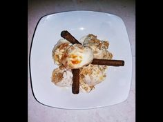 Simple ice-cream with yogurt! Easy Desserts, Yogurt, French Toast, Ice Cream, Healthy, Breakfast, Simple, Youtube, Channel