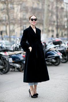 Paris Fashion Week F / W 2015: estilo de rua.  Parte 6 (16 fotos)