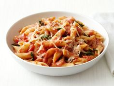 Penne With Vodka Sauce Recipe : Food Network Kitchen : Food Network