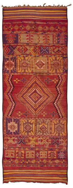 Moroccan Carpet 45324 Detail/Large View - By Nazmiyal