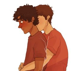 Aristotle and Dante by cherryandsisters