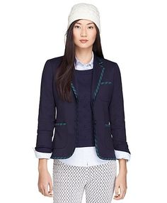 Two-Button Blazer with BB