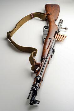 Mosin Nagant, Soviet battle rifle.