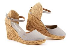 Buying shoes with white wedges white wedges satuna wedges - white dsfcyqh Womens Espadrilles Wedges, Women's Espadrilles, Espadrille Sandals, Ankle Strap Heels, Ankle Straps, Wedge Heels, White Wedges, High Shoes, Buy Shoes