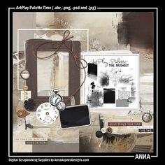 Oscraps :: Shop by Designer :: Anna Aspnes Designs :: ArtPlay Palette Time