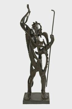Pablo Gargallo ~ De profeet ~ 1933 ~ Brons ~ Hoogte 235 cm. ~ Privécollectie