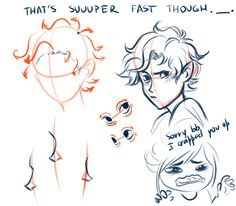 Viria character hair, nose, and eye tutorial: Leo Valdez (Heroes of Olympus by Rick Riordan).