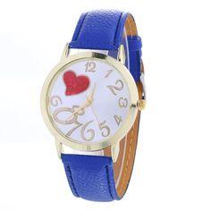 1.49$  Watch now - http://alirl9.shopchina.info/go.php?t=32804286841 - womens watches Love Pattern Pattern Belt Simulated Quartz Watch wrist watches for women reloj mujer 1.49$ #buyonlinewebsite