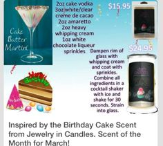 Ahhh #Mixology martini yummy! Unique candle gift! Check it out at www.surpriseinsoycandles.com Augusta, ME