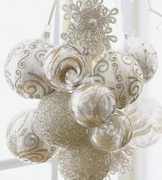 exquisite-totally-white-vintage-christmas-ideas-8