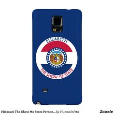 Missouri The Show Me State Personalized Flag Galaxy Note 4 Case