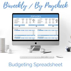 Best Biweekly Paycheck to Paycheck Budgeting Spreadsheet Template Sample Budget, Excel Budget, Budget Spreadsheet, Planning Budget, Monthly Budget, Budget Help, Budget Planner, Meal Planning, Budget Tracking