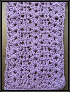 Crochet Patterns for the beginner or the advanced: Tight Lace Stitch Pattern with Video