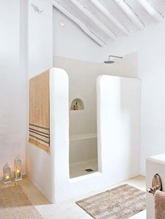 Modern country bathroom via Micasa                                                                                                                                                                                 More