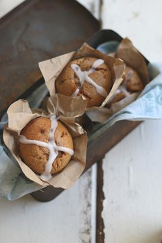Gluten Free Hot Cross Buffins