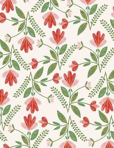 Floral Pattern Vintage – My ideas, my pins 2020 Design Textile, Design Floral, Motif Floral, Textile Patterns, Pretty Patterns, Vintage Patterns, Flower Patterns, Boho Pattern, Pattern Art