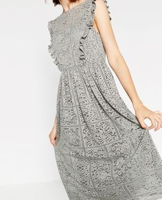 ZARA - WOMAN - LACE DRESS
