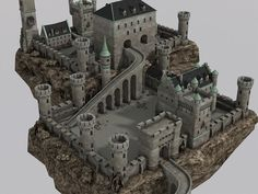 Elevate your workflow with the Medieval Castle asset from DEXSOFT-Games, Find this & other Fantasy options on the Unity Asset Store. Fantasy Castle, Fantasy Map, Fantasy Places, Medieval Life, Medieval Castle, Medieval Fantasy, Minecraft Castle, Minecraft Medieval, Minecraft Architecture