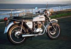 Honda CB250 1974 N reg | Honda CB250 . Crimdon near Hartlepo… | Flickr