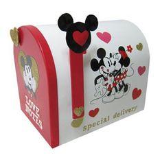 Mickey & Minnie Valentines Mailbox