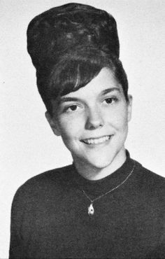 Karen Carpenter. I'm surprised she had all that hair. You'd think she would have cut it off  because it weighed too much.