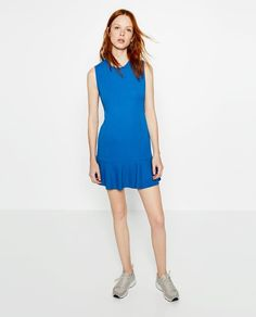 Pin for Later: This 1920s-Inspired Trend Is Making a Comeback — Just in Time For Sundress Season  Zara Frilled Dress ($36)
